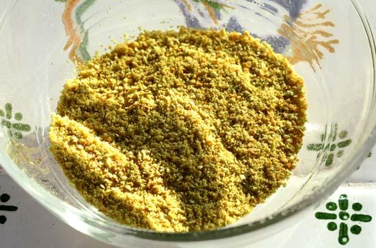 Lemon zest powder poudre citron