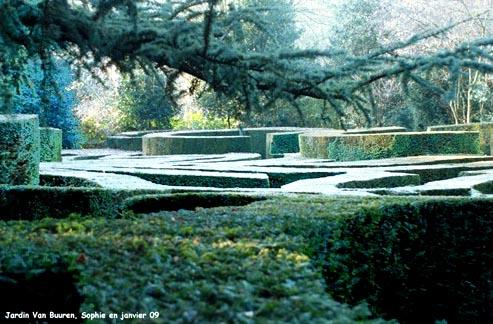 Labyrinth  labyrinthe René Pechère  Alice Van Buuren