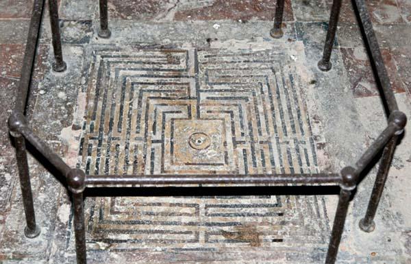 Labyrinth labyrinthe pavillon Carlos V Sevilla