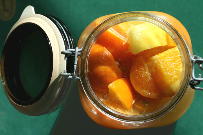 Citrus pickles agrumes