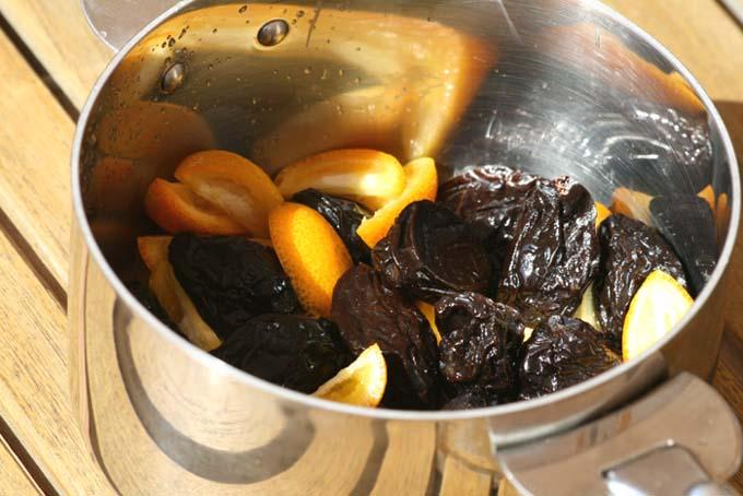 Kumquat prunes pruneau