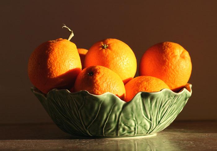 Oranges navel laranja