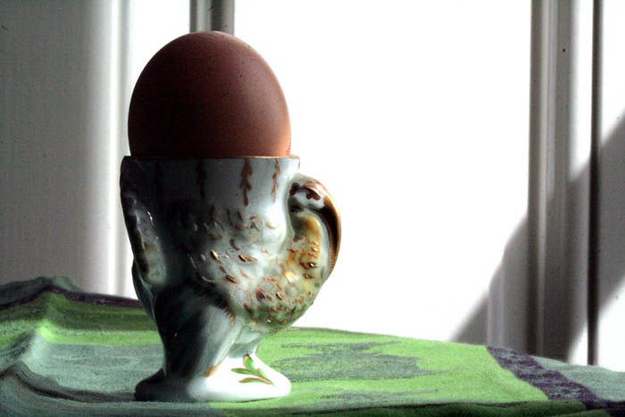 Egg cup turkey coquetier dinde