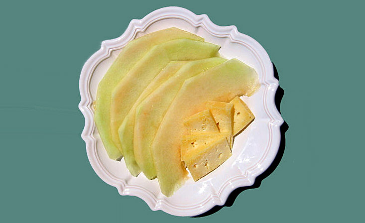Cheese melon fromage
