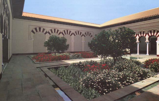 Vivienda de la Alberca Madinat al-Zahra Córdoba Cordoue maison du bassin