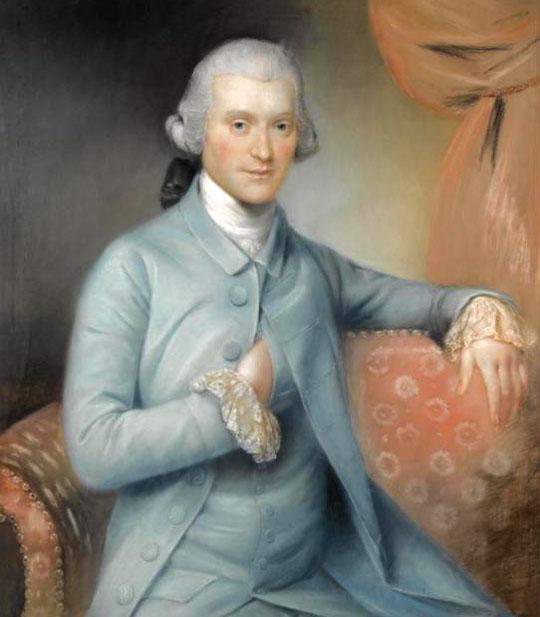 John Russel portrait de George Medley