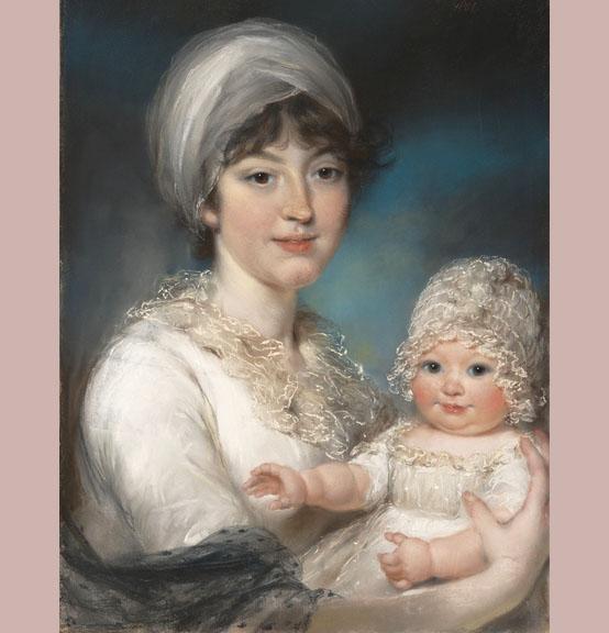 John Russell Henrietta Ann Jane Russell et Ann 1801 MET