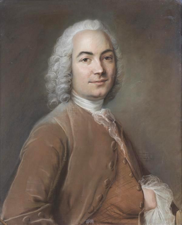 Pastel XVIII att. Louis Vigée