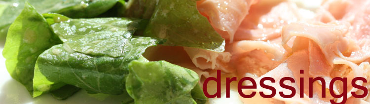 Dressings sauces salade