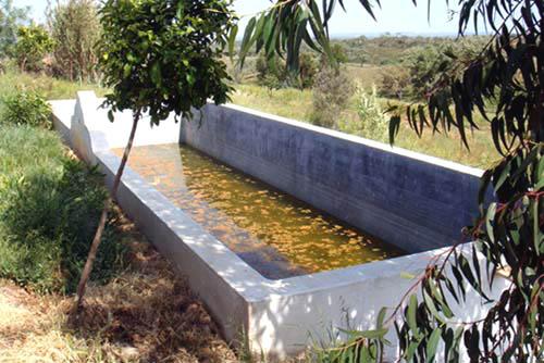 Tanque agua réservoir d'eau