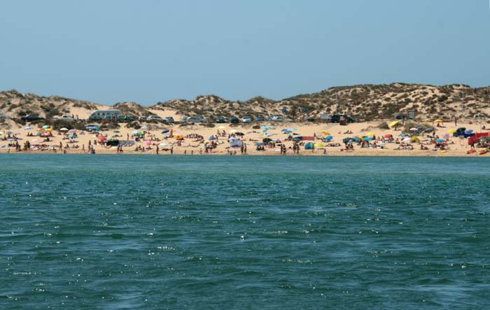 Vila Nova de Milfontes a praia la plage