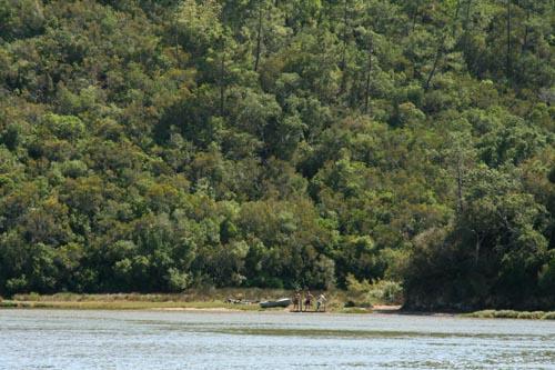Rio Mira riviere Mira river