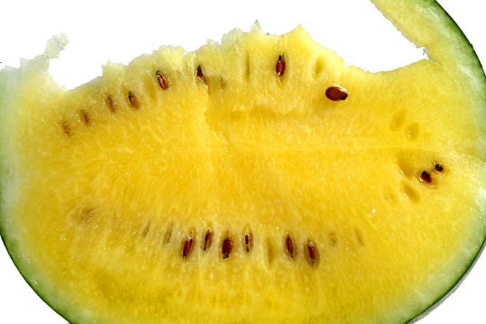 Yellow watermelon pasteque jaune Melancia amarela