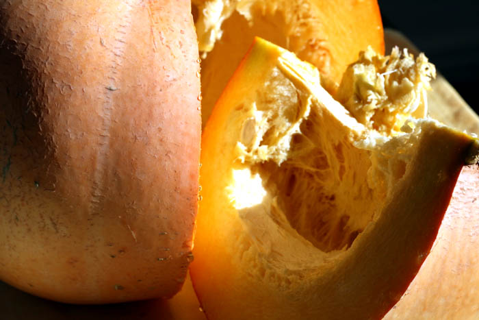 Squash Gros jaune de Paris potiron Cucurbita maxima