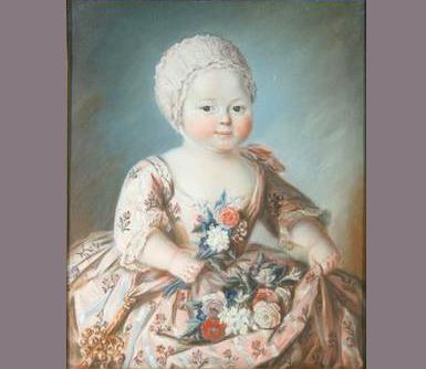 Jean-François Fontaine marquis de Cramayel par Glain pastel