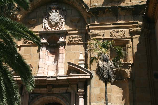 Andalousie Antequera palmier