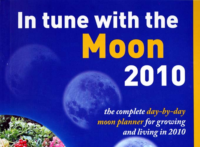 Moon calendar 2010
