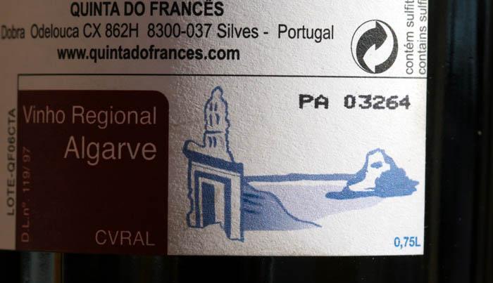 Vinho regional Algarve