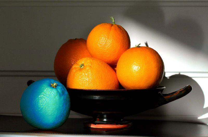 オレンジ 青 blue orange orange bleue μπλα Πορτοκαλιά