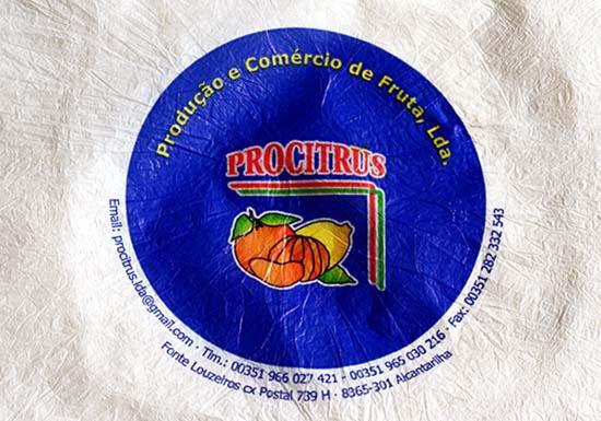 Orange paper papier à agrume