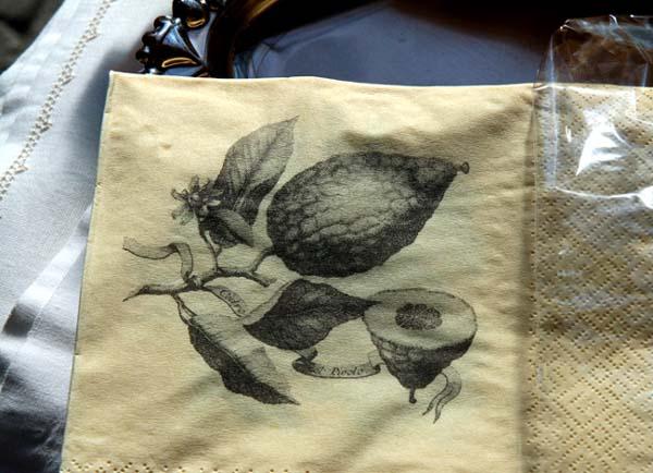 Cédrat serviette