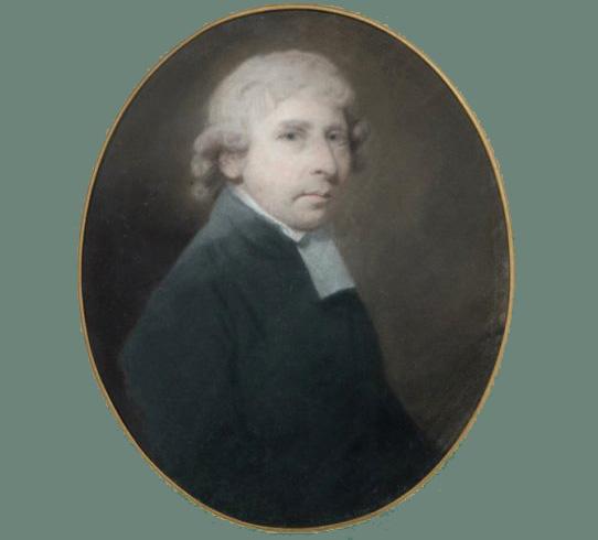 Howard Hodges pastel ovale