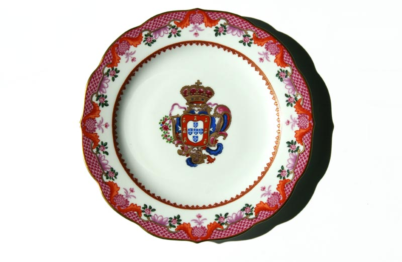 Pierre III  vaiselle de Macao D. Pedro III louça de Macao