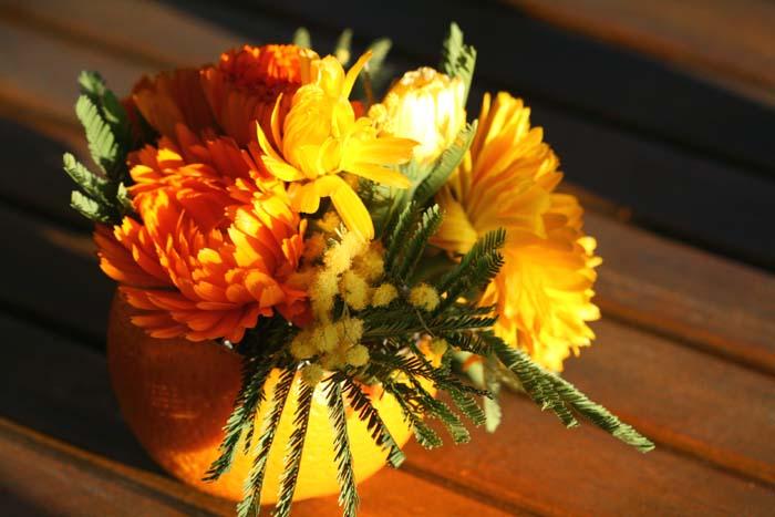 オレンジ色 オレンジ orange bouquet orange
