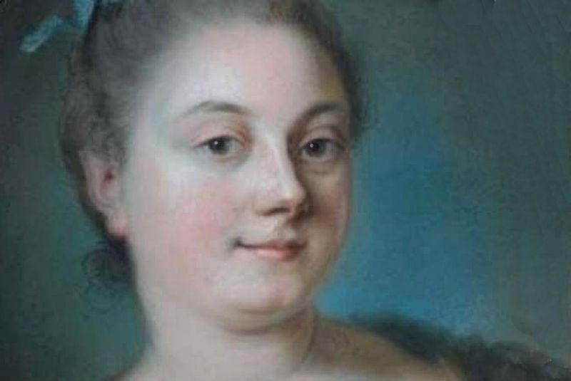 Mlle Delorme pastel Labille-Guiard Aguttes 2010