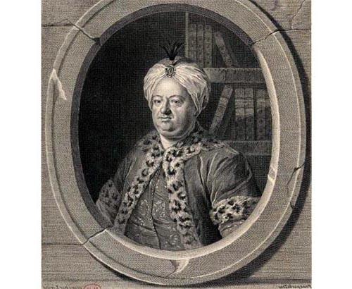 Lépicier Charles Richer de Rodes de la Morlière LaTour détail symétrie horizontale