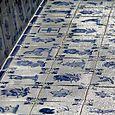Blue azulejos azul bleu