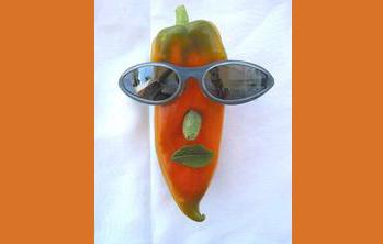 Poivron à lunettes