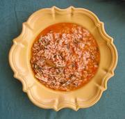 Rice alentejano