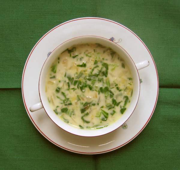 Endive soup