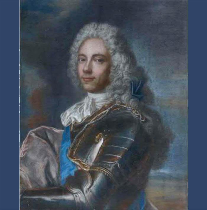 Vialy Joseph Perrin des Almons pastel