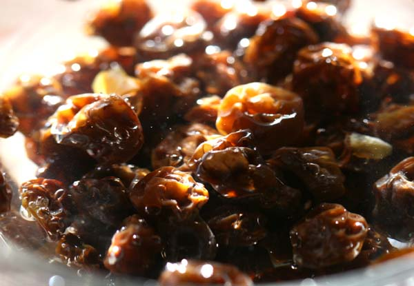 Raisins secs blanc