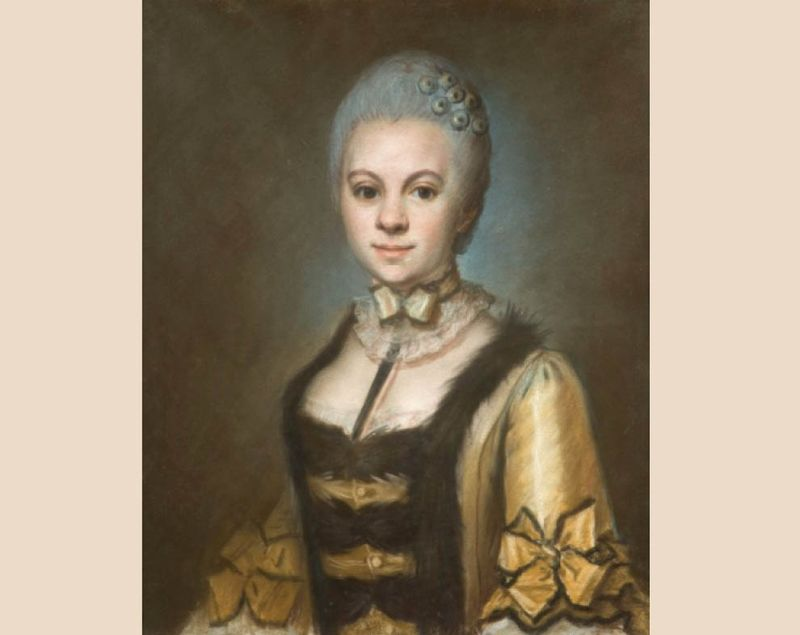 Marie Louise Barentin, comtesse du Crozet par Charles-Marie Caffieri Artcurial 2010