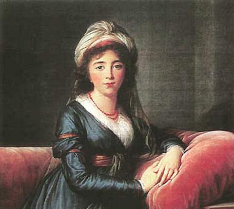 Ekaterina Vladimirovna Apraxina nee Galitzin Vigée 96