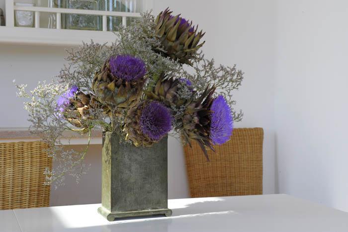 Bouquet artichauts Beatrice Pichon