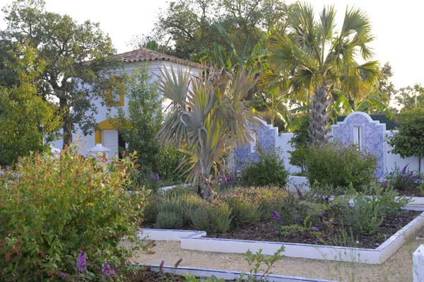 Blue garden jardin bleu Béatrice Pichon