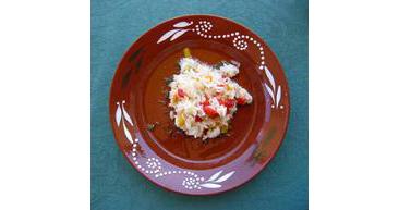 Riz au poivron