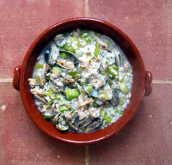 Rice with clams