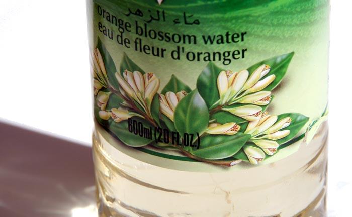 Orange blossom water eau de fleur d'oranger