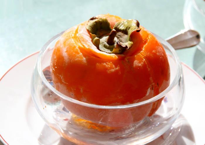 Sorbet-Frozen Persimmon كاكي