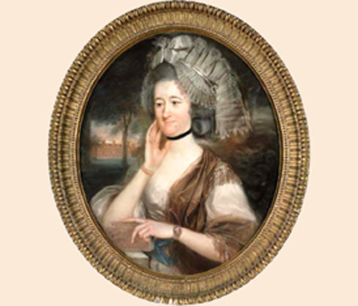 Lady Hill, née Mary Pole, wife of Sir Rowland Hill John Russell copie
