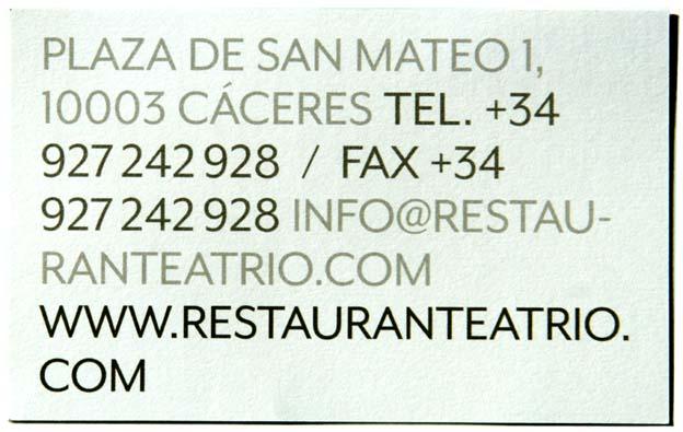 Atrio restaurant