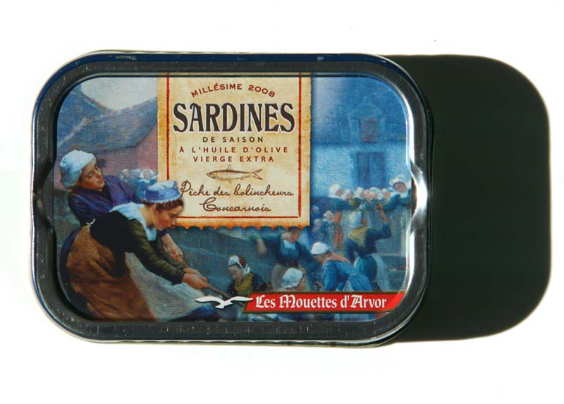Sardines mouettes d'Arvor 2008 s