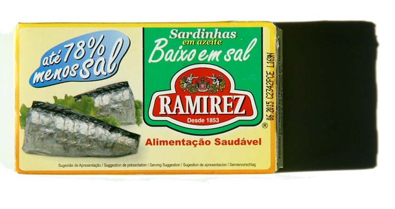Sardines Ramirez baixo em sal