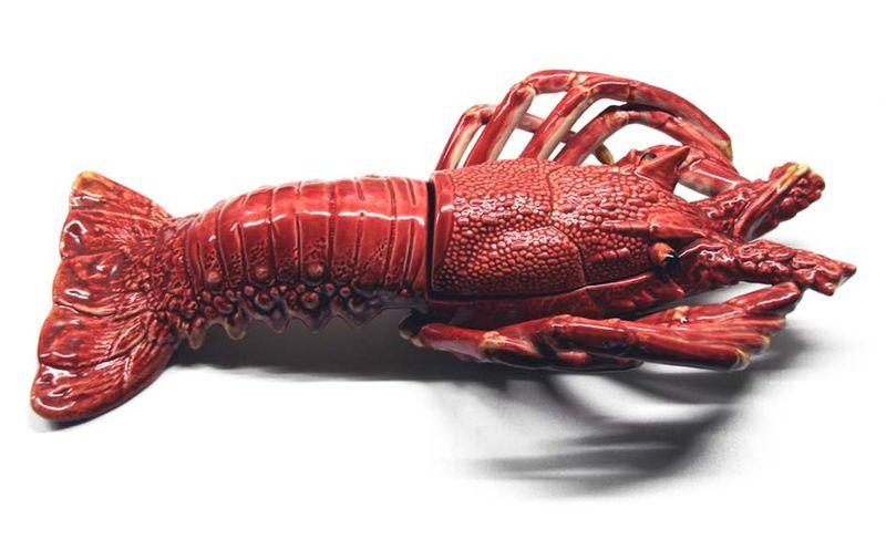 Spiny lobster langouste 棘刺龍蝦 Lagosta Bordallo Pinheiro