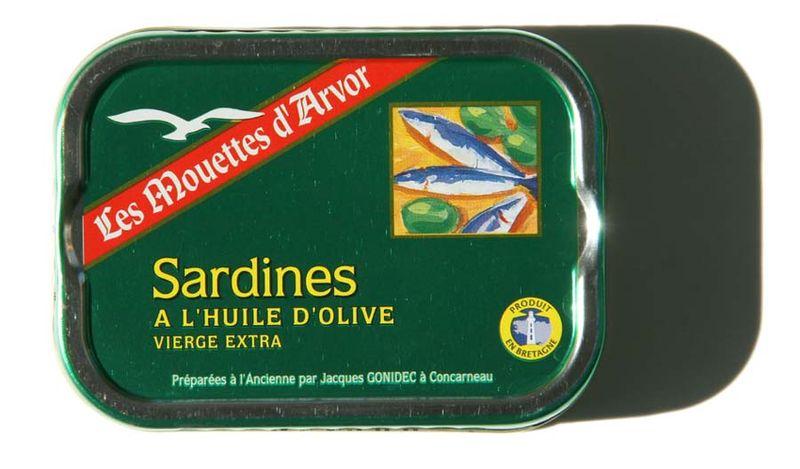Sardines Godinec Concarneau